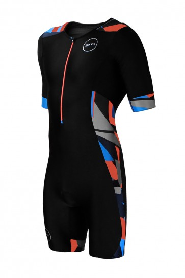Trisuit Barbati Zone3 Activate+ Midnight Camo Maneca Scurta