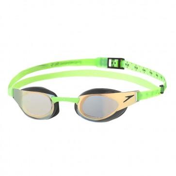 Ochelari Inot Speedo Fastskin Elite Mirror auriu/verde