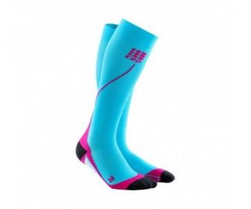 Sosete compresie alergare femei CEP Run Socks 2.0 / diverse culori
