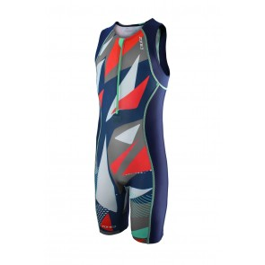 Trisuit Copii Zone3 Adventure Digital Print