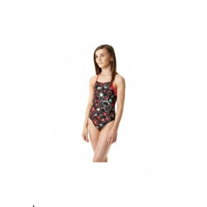 Costum inot Fete Speedo Allover Rippleback