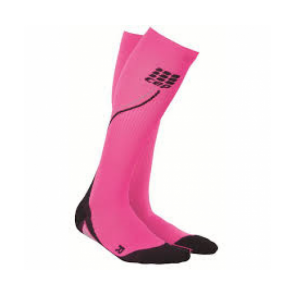 Sosete compresie alergare femei (noapte) CEP Night Run Socks 2.0