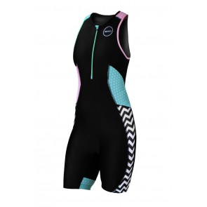 Trisuit Femei Zone3 Activate+ Zebra Fly